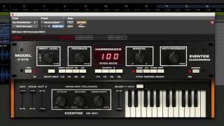 h910 harmonizer plug in preset demos
