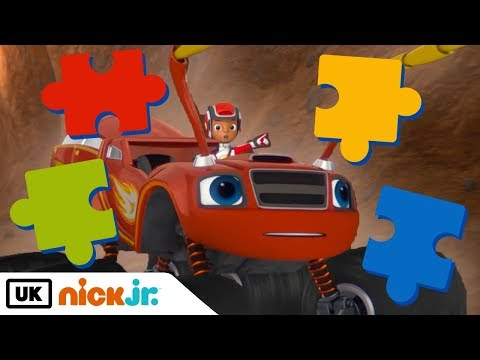 NEW CHANNEL: Blaze and the Monster Machines | Solve The Puzzle | Nick Jr. UK
