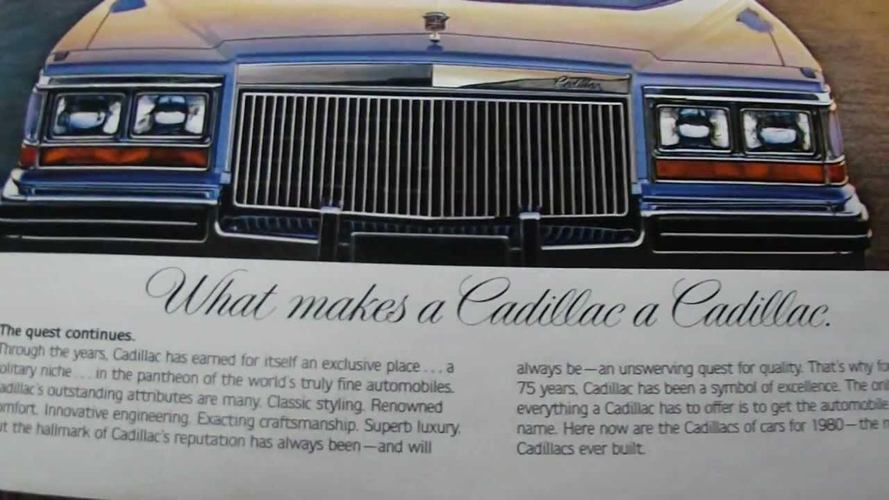 75 Cadillac Deville Fleetwood Eldorado Full Line Sales Catalog Brochure NOS