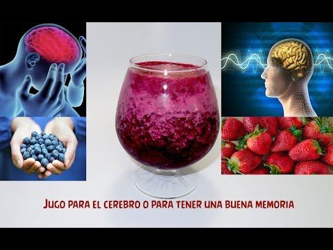 jugo para el cerebro o tener una buena memoria #2