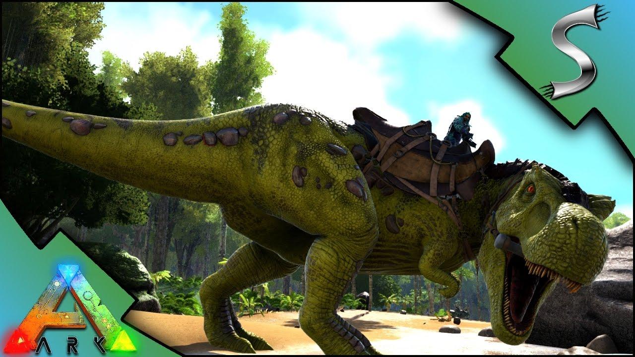 Golden Trex Mutation The Rex Army Rises Ark Survival Evolved Se