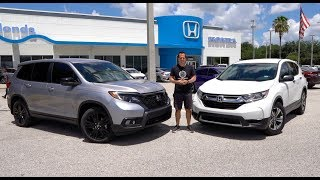 Which Honda SUV is the RIGHT buy for you? 2019 Passport or CR-V?