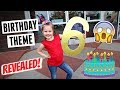 Birthday Party Theme REVEALED! Fun Shopping Trip To The Party Store