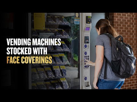 UCF Installs Vending Machines Stocked with Face Coverings