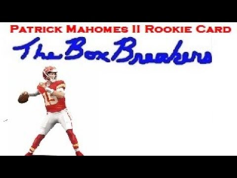 Patrick Mahomes Rookie Card Pull Nfl Playoff 2017 Football Hobby Box Opening Live With Mr 505