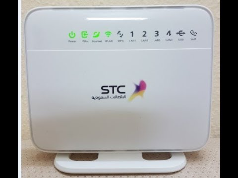 شرح مودم الاتصالات الجديد Hg658v2 استعادة الضبط والاتصال بالشبكة وتغييرها من الجوال Youtube