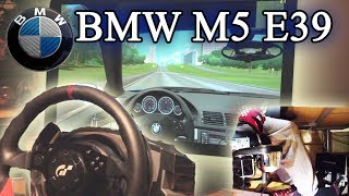 BMW M5 E39 Drifting, Acceleration, Top speed (maniac driver) - City Car Driving 1.3.1 HD 1080p 2014