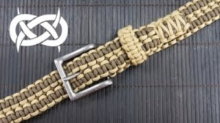 How to make a Rattlerstrap Wide Solomon Paracord Belt
