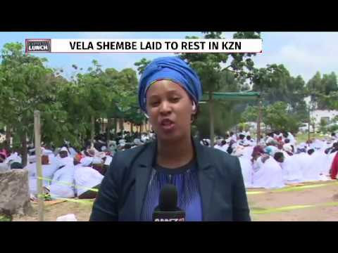 Vela Shembe laid to rest in KZN