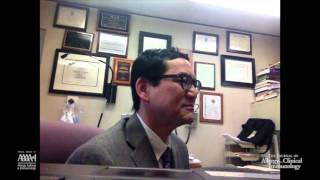 Interview with AAAAI President James Li, MD, PhD