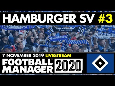 HAMBURGER SV FM20 BETA | Stream 3 | INVINCIBLES? | Football Manager 2020