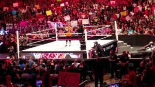 John Cena sucks entrance Allstate Arena 10/12/15