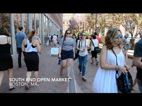 South End Open Market @ SoWa, Produced by Fiber and Water