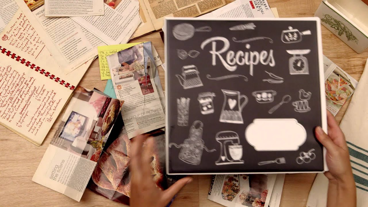 cook confidently with avery my recipe binder and starter kits