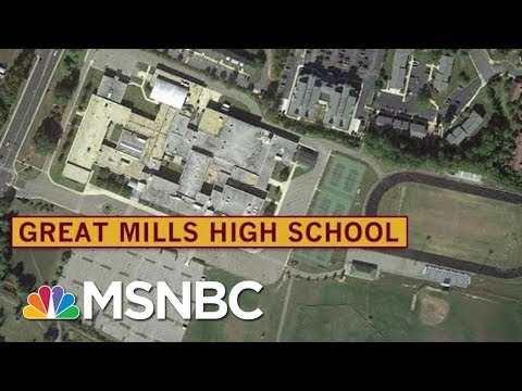 School Shooting Reported In Maryland's Great Mills High School | Morning Joe | MSNBC