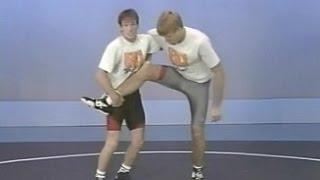 Захваты ног в борьбе. Белоглазов (1990), часть 7 из 10