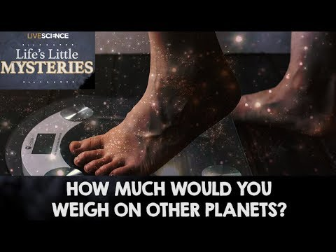 How Much Would You Weigh on Other Planets?