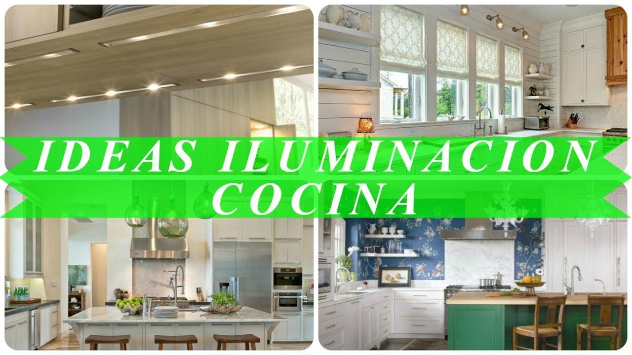 Ideas de iluminacion para cocinas youtube - Iluminacion de cocinas ...
