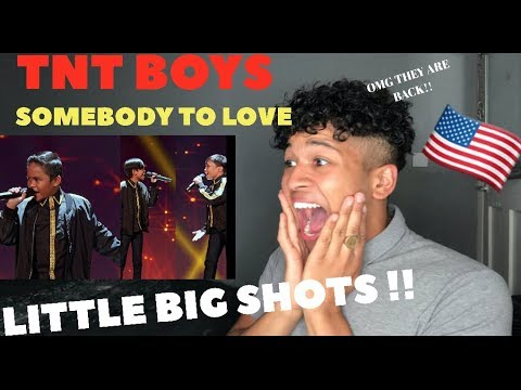 TNT Boys  Somebody To Love  Little Big Shots MY REACTION