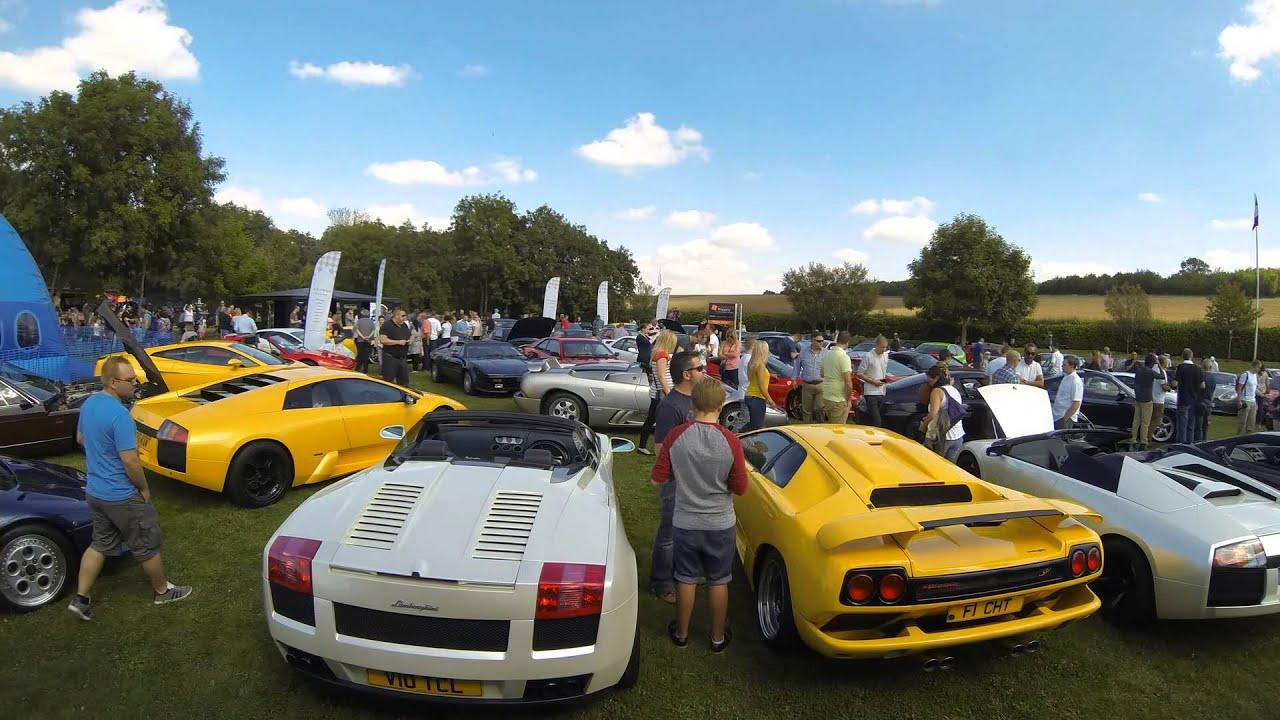 Sharnbrook Hotel Car Show