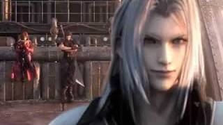 Final Fantasy VII Crisis Core Angeal Vs Genesis Vs Sephiroth