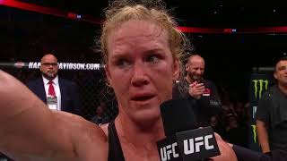 UFC 225: Holly Holm Octagon Interview