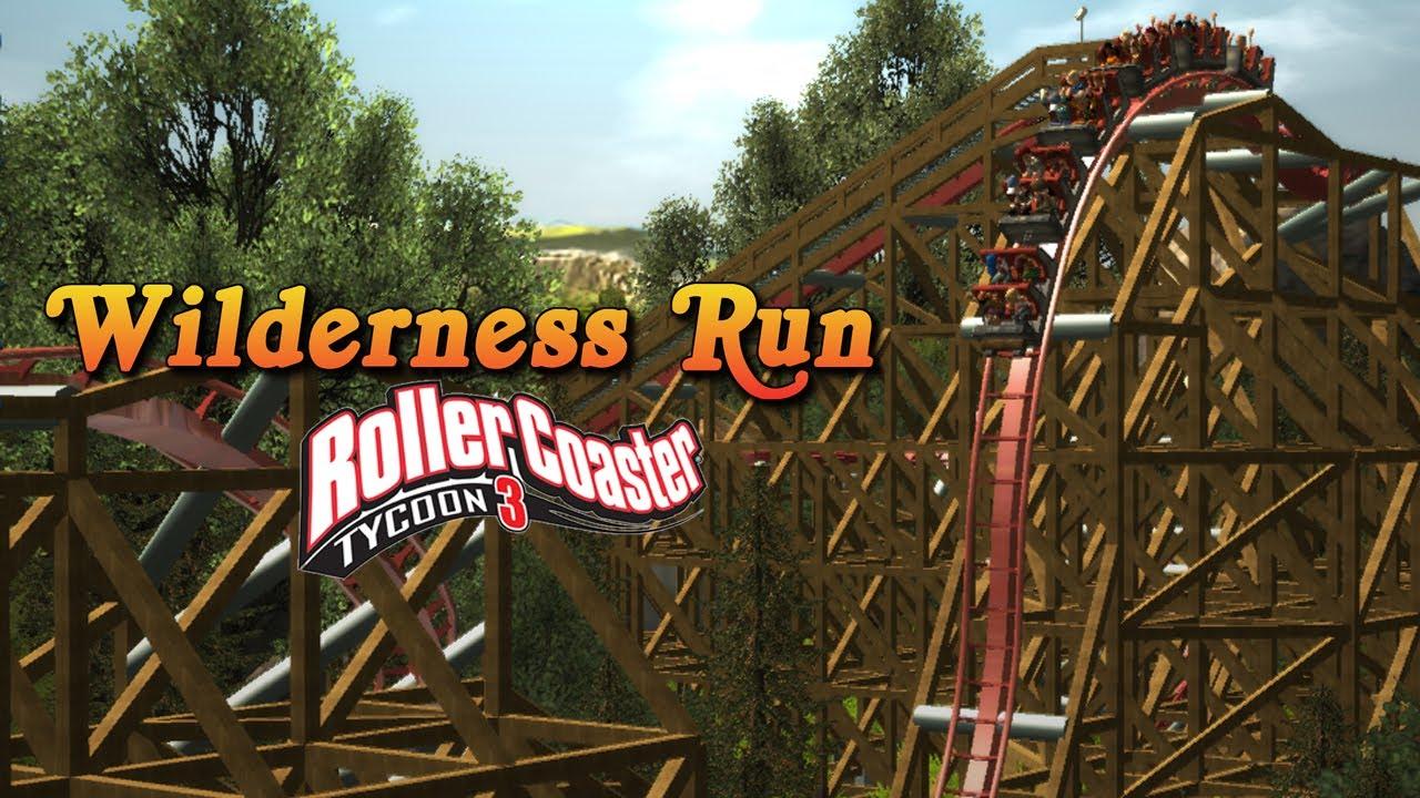 [RCT3] Wilderness Run - RMC Hybrid Coaster