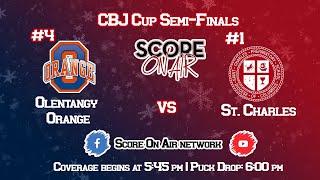 CBJ Cup Semi-Final: Olentangy Orange vs St. Charles
