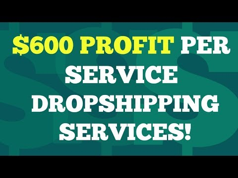 How To Make Money Online Fast Dropshipping Services 2020 | $600 Per Service