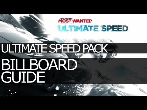 All Ultimate Speed Pack Billboard Locations - Need For Speed: Most Wanted (2012)
