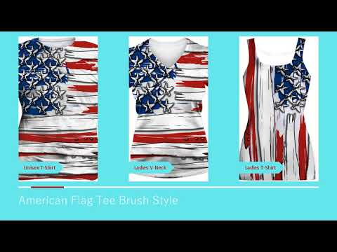 American Flag T Shirt Review - American Flag T-shirt Review