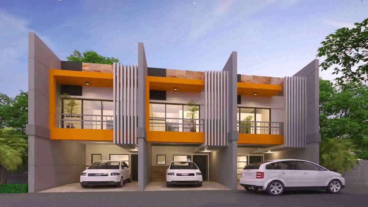 Row houses design in the philippines youtube for Best row house design