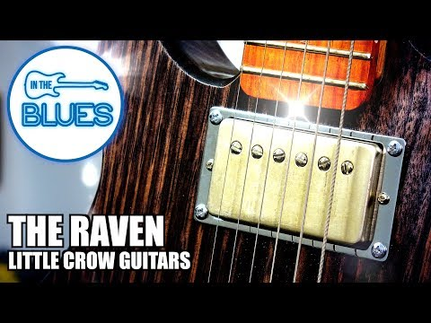 "**NEW** Little Crow Guitars - The ""Raven"" Dual Humbucker Electric Guitar"
