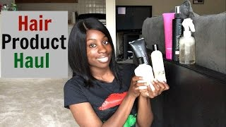 Hair Product Haul from Expo