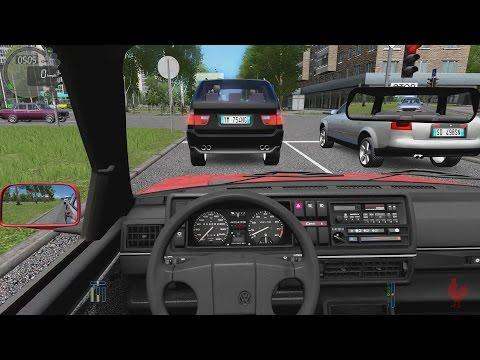 City Car Driving - Volkswagen Golf II GTI   Street Racing