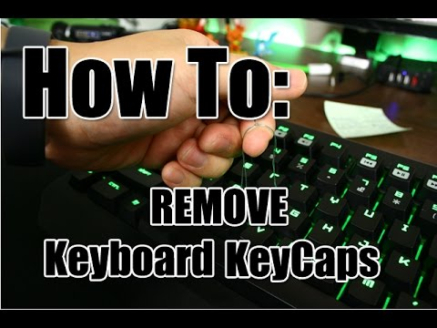 How To: Remove Your KeyCap
