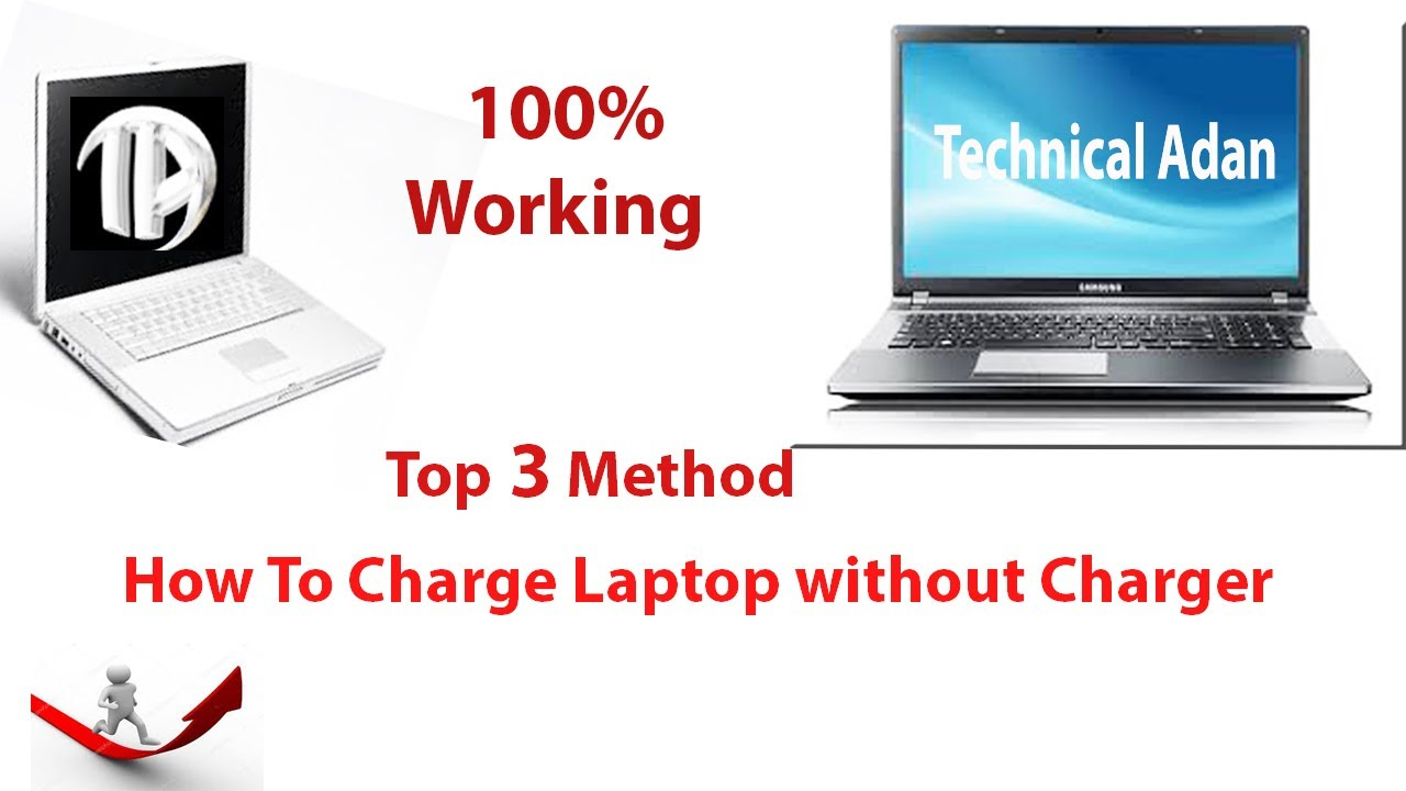 How to charge laptop without charger | Top 3 Methods ...