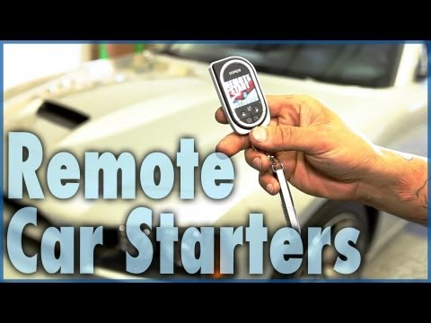 Types Of Remote Car Starters | Alarm, Security, & Smartphone Compatible