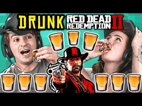 Adults Get Drunk And Try Not To Die In Red Dead Redemption 2 thumbnail