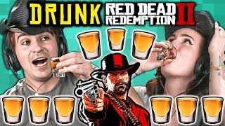 Adults Get Drunk And Try Not To Die In Red Dead Redemption 2