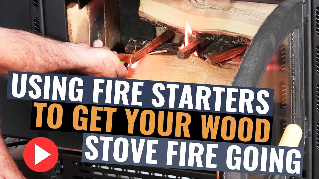 gas wood how fireplace to vs start with starter burning