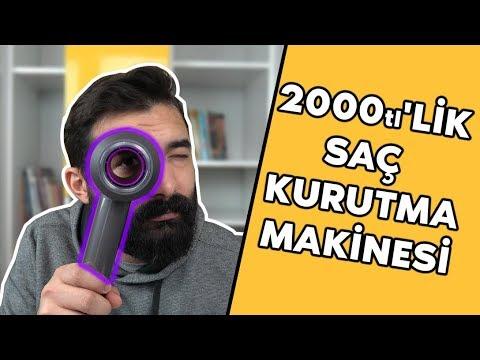 2000TL'lik Saç Kurutma Makinesi
