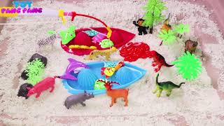 Best Learning Colors Video For Children Learn Colours Sea Animals  Fish Aqua Bot Kids Toys