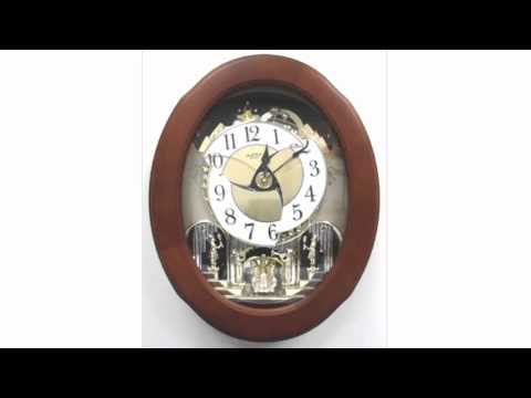 Rhythm Clocks 4MH832 - Opening Dial - Beatles, Classical and Christmas Melodies