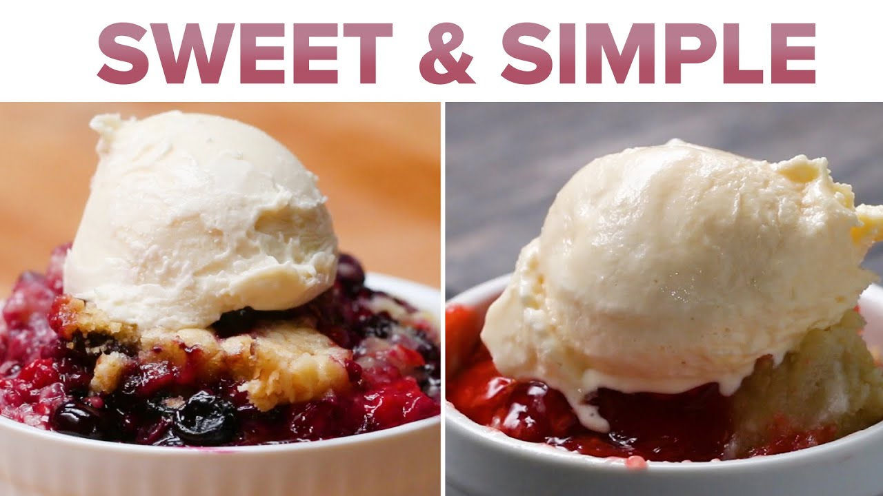 Download 6 Insanely Easy Fruit Cobblers