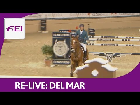 Re-Live | Del Mar | Longines FEI World Cup™ Jumping 2016/17 NAL | Intuit Grand Prix Qualifier