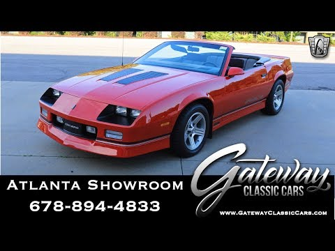 1990 Chevrolet Camaro Iroc-Z - Gateway Classic Cars of Atlanta #1234