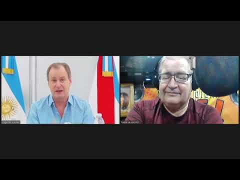 Entrevista al Gobernador Gustavo Bordet, por Rubén Almará en el programa MANO A MANO 05/08/2020