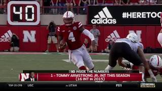 B1G Inside the Numbers: Nebraska's Tommy Armstrong, Jr.