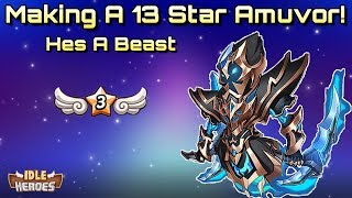 Idle Heroes (S) - 13 Star Amuvor and Aspen Dungeon Run